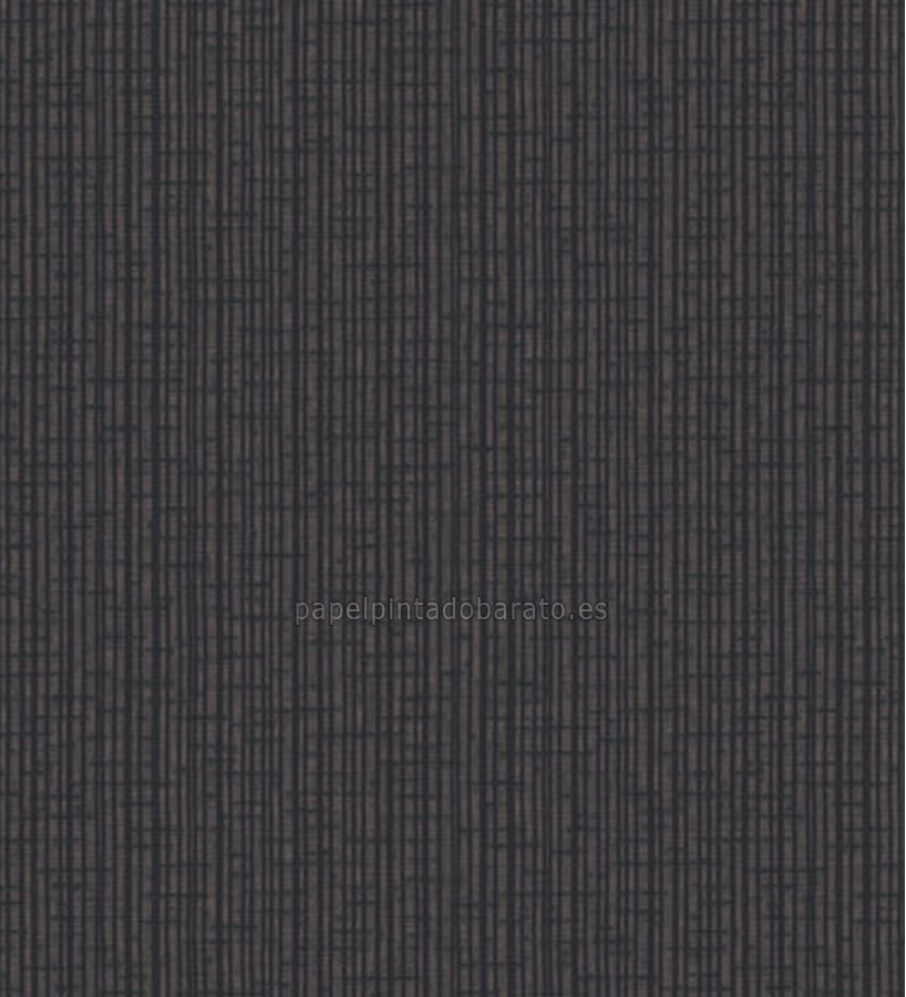 Papel pintado rayas finas color negro saint honore 1090121 for Papel de pared plata