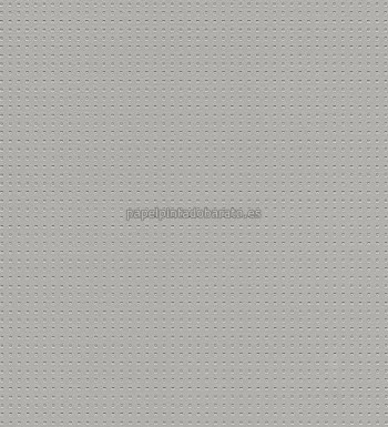 Papel pintado liso perforado gris 1004318 for Papel pintado liso