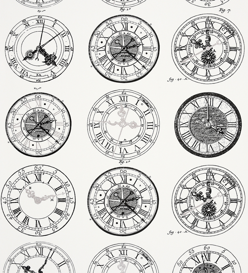Grandfather clock gears drawing for Papel pintado romantico