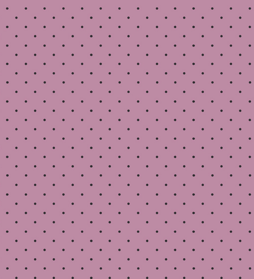 Papel pintado de lunares topitos negro fondo rosa 2018511 for Papel de pared negro