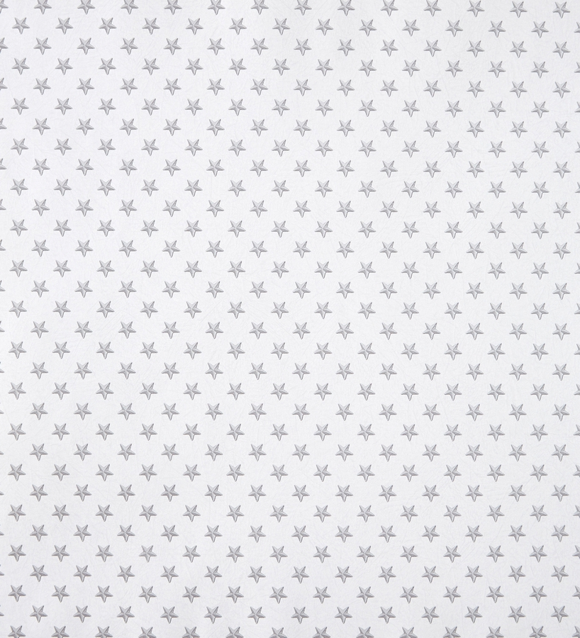 Papel pintado estrellas peque as grises fondo blanco 2020077 for Papel pintado gris y blanco