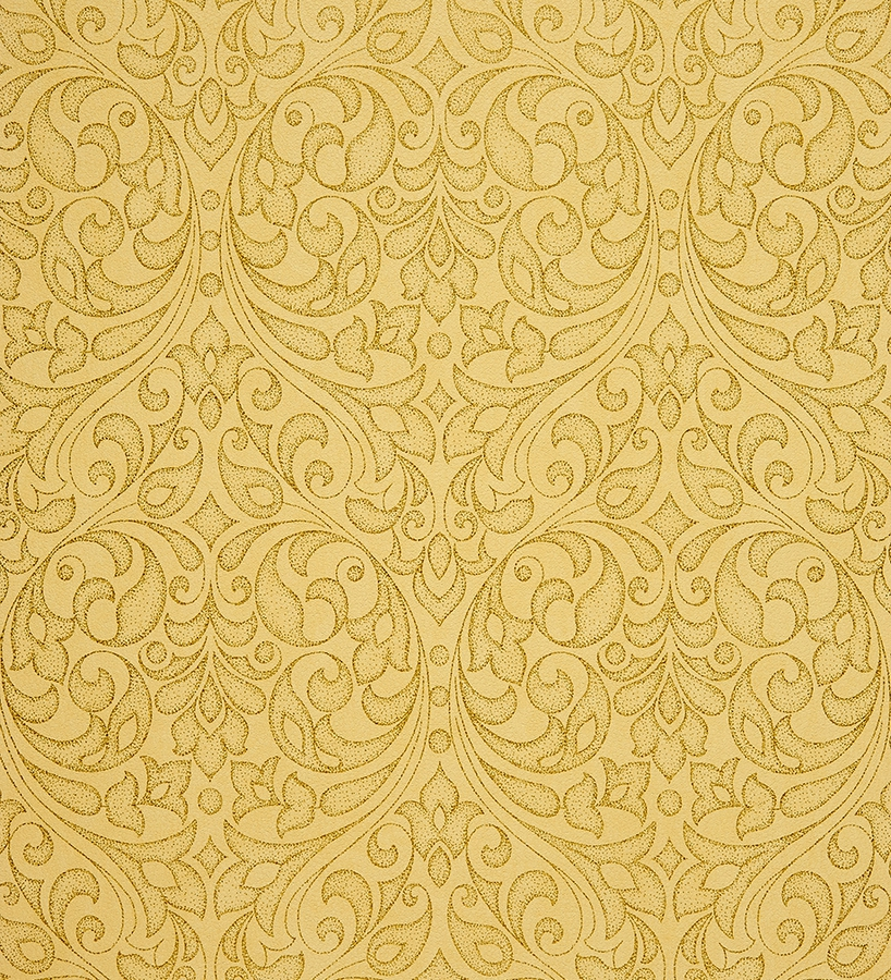 Papel pintado damasco moderno oro metalizado fondo for Papel texturizado pared