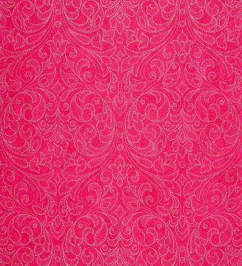 Papel pintado damasco moderno plata metalizado fondo texturizado rosa intenso 2010507 for Papel texturizado pared