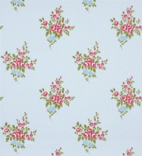 Papel pintado vintage ramilletes Liberty Country con topitos - 41016